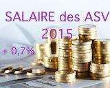 salaire des auxiliaires vétérinaires 2015